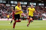 Tong hop: Bournemouth 0-2 Watford (Vong 2 NHA 2017/18)