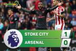 Tong hop: Stoke 1-0 Arsenal (Vong 2 NHA 2017/18)