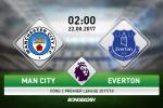 Man City 1-1 Everton: Mat nguoi trong ca hiep 2, Man xanh danh cua diem tren san nha