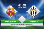 Giai ma tran dau Barca vs Juventus 01h45 ngay 13/9 (Champions League 2017/18)