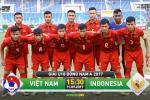 Xem truc tiep U18 Viet Nam vs U18 Indonesia 15h30 chieu nay 11/9 tren kenh nao