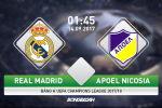 Real Madrid vs APOEL Nicosia (1h45 ngay 14/9): Nha vua tro lai