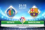 Getafe 1-2 Barca (KT): Messi im ang, Blaugrana thang nhoc nho hang du bi