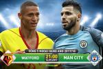 Watford 0-6 Man City (KT): Aguero lap hattrick, Man xanh lai thang huy diet
