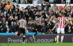 Tong hop: Newcastle 2-1 Stoke (Vong 5 NHA 2017/18)