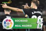 Tong hop: Sociedad 1-3 Real Madrid (Vong 4 La Liga 2017/18)