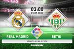 Real Madrid 0-1 Betis (KT): Ronaldo tái xuất, Los Blancos chết đứng vào phút chót