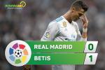 Tổng hợp: Real Madrid 0-1 Betis (Vòng 5 La Liga 2017/18)