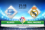 Alaves vs Real Madrid (21h15 ngay 23/9): Cay nho… dat khach