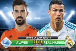 Alaves 1-2 Real Madrid (KT): Ronaldo vo duyen, Los Blancos thang nhoc nho sao tre Ceballos