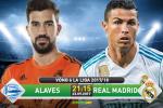 Alaves 1-2 Real Madrid (KT): Ronaldo vô duyên, Los Blancos thắng nhọc nhờ sao trẻ Ceballos