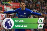 Tong hop: Stoke 0-4 Chelsea (Vong 6 NHA 2017/18)