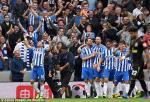 Tổng hợp: Brighton 1-0 Newcastle (Vòng 6 NHA 2017/18)