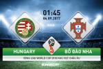 Hungary 0-1 BDN: Ronaldo vo duyen, Seleccao thang nhoc trong the hon nguoi