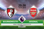 Bournemouth vs Arsenal (20h30 ngay 14-1): Day lui khung hoang