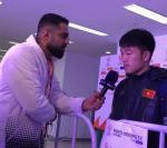 Xuân Trường tri ân thầy Park khi trả lời phỏng vấn AFC