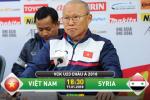 TRỰC TIẾP U23 Việt Nam vs U23 Syria 18h30 tối nay (VCK U23 châu Á)