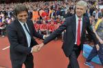 Arsenal thay the Wenger bang Conte?