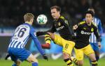 Tong hop: Hertha Berlin 1-1 Dortmund (Vong 19 Bundesliga 2017/18)