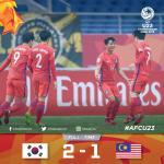Tong hop: U23 Han Quoc 2-1 U23 Malaysia (VCK U23 chau A 2018)