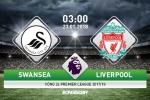 TRỰC TIẾP Swansea vs Liverpool 03h00 ngày 23/1 (Premier League 2017/18)