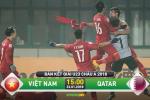 U23 Viet Nam 2-2 (pen 4-3) U23 Qatar (KT): Tien Dung lai len dong tren cham luan luu 11m, chung ta vao CK U23 chau A 2018