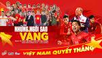 Dan sao Viet hoa chung giong hat co vu U23 Viet Nam vo dich Chau A