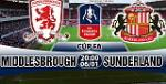 Nhan dinh Middlesbrough vs Sunderland 20h00 ngay 6/1 (FA Cup 2017/18)
