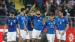 HLV Roberto Mancini no to sau khi giup DT Italia tru hang