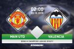 MU 0-0 Valencia: Quy do nhot nhat kiem diem o Champions League