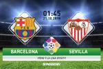 Barca 4-2 Sevilla (KT): Messi chan thuong, Blaugrana van thang de lay lai ngoi dau