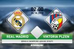 Phan tich, giai ma tran dau Real Madrid vs Viktoria Plzen (Champions League 2018/19)