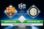 Ket qua Barca vs Inter Milan tran dau Champions League 2018/19
