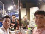 Tuan Anh nhan 'mon qua dac biet' tu Vu Van Thanh tai Han Quoc