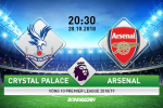 Crystal Palace 2-2 Arsenal (KT): Phao thu dut mach toan thang vi cu dup penalty