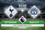 Tottenham 0-1 Man City (KT): Ban linh cua nha vua