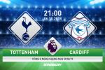 """Nhan dinh Tottenham vs Cardiff (21h ngay 6/10): """"Ga trong"""" de bep """"Chim xanh"""""""