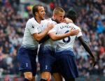 Thong ke khong the bo qua tran Tottenham 1-0 Cardiff