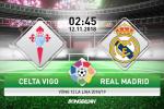 Celta 2-4 Real Madrid (KT): Trieu dai cua HLV tam quyen Solari khep lai bang chien thang tung bung