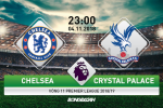 Chelsea 3-1 Crystal Palace (KT): Hieu ung Hazard giup The Blues tiep tuc bat bai o Premier League