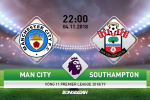 Man City 6-1 Southampton (KT): Thay tro Pep Guardiola danh Tennis tai Etihad