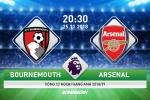 Bournemouth 1-2 Arsenal (KT): Aubameyang giup Phao thu thoi lua vao cuoc dua Top 4