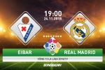 Eibar 3-0 Real Madrid (KT): Dia chan tai san Ipurua