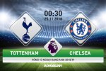 Ket qua Tottenham vs Chelsea tran dau vong 13 Premier League 2018/19