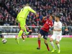 Video tong hop: Bayern Munich 3-3 Dusseldorf (Vong 12 Bundesliga 2018/19)