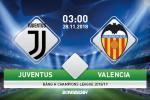 Juventus 1-0 Valencia (KT): Ronaldo im tieng, Lao ba van bay som vao vong 1/8