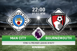 Man City 3-1 Bournemouth (KT): Vang nhieu tru cot, Man xanh van mo hoi tren Etihad