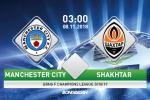 Man City 6-0 Shakhtar (KT): Mua ban thang tai Etihad