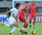 Video tong hop: Viet Nam 1-0 Singapore (ban ket luot ve AFF 2008)
