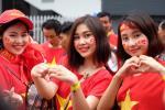 Chùm ảnh: Những bóng hồng Việt Nam xinh tươi tại Bukit Jalil